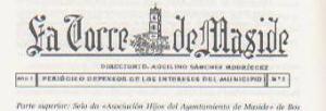 LA TORRE DE MASIDE-Ex. de Febreiro de 1921