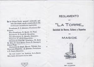 REGLAMENTO A TORRE-1 Y 16
